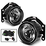 AUTOSAVER88 Fog Lights For Mitsubishi Outlander (Pre-facelift) 2007 2008 2009 2010 2011 2012 2013 2014 2015 Outlander Sport/RVR (Pre-facelift) 2013 2014 2015 ASX 2014 fog lamp kit