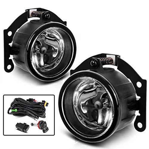 AUTOSAVER88 Fog Lights For Mitsubishi Outlander (Pre-facelift) 2007 2008 2009 2010 2011 2012 2013 2014 2015 Outlander Sport/RVR (Pre-facelift) 2013 2014 2015 ASX 2014 fog lamp kit by AUTOSAVER88