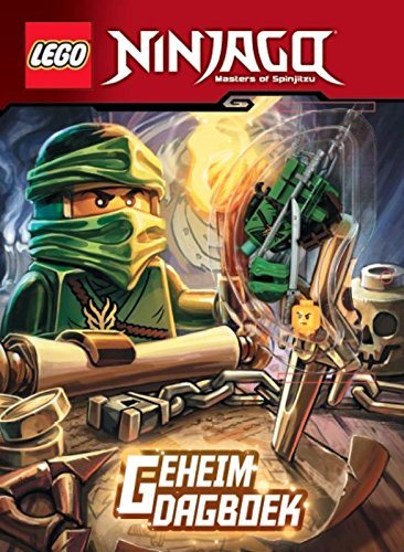 Geheim dagboek (Lego Ninjago masters of Spinjitzu): Amazon ...