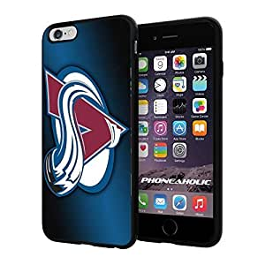 diy zhengNHL HOCKEY Colorado Avalanche Logo, Cool iphone 5/5s Smartphone Case Cover Collector iphone TPU Rubber Case Black