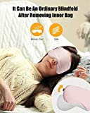 Unimi 3D Sleep Mask, Total Darkness,2020 New Mesh