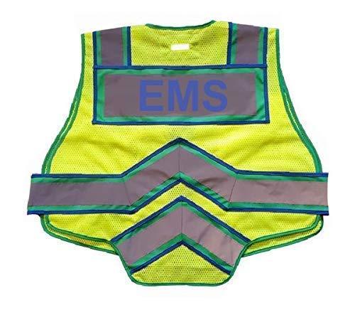 Chaleco reflectante de seguridad pública Fire Ninja EMS ...