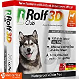 Rolf Club 3D FLEA Collar for Dogs - Flea and Tick Prevention for Dogs - Dog Flea and Tick Control for 6 Months - Safe Tick Repellent - Waterproof Tick Treatment ... (65LB)