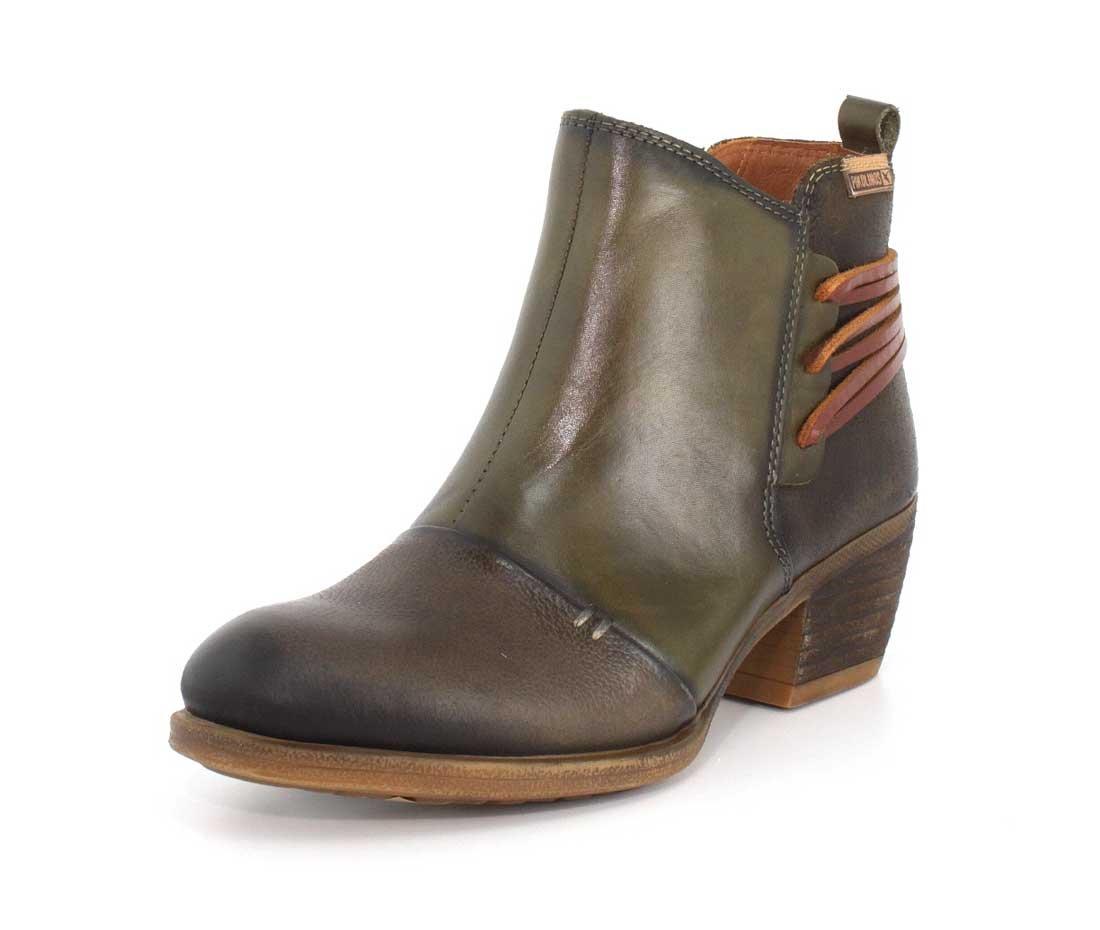 Pikolinos Womens Olmo Almond Toe Ankle Chelsea Boots B06WVTLPCG 36 M EU / 5.5-6 B(M) US|Seaweed