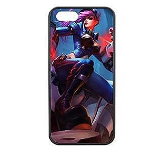 Vi-002 League of Legends LoL case cover for Apple iPhone 5/5S - Rubber Black