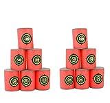 (US) Yosoo 12 Pcs Dart Foam Gun Shoot EVA Soft Bullet Target Kids Toy For NERF N-Strike Blasters