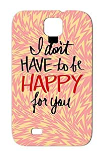 Happyforyou Funny Provocative For Sumsang Galaxy S4 Red Case