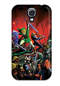 Hot Style VxtPPCs5723rSqLi Protective Case Cover For Galaxys4(the Legend Of Zelda ) hjbrhga1544