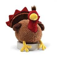 "Gund Fun Thanksgiving Li'l Stuffing Turkey 8"" Plush"