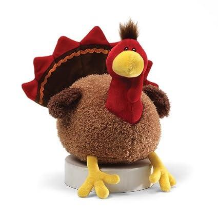 Amazon Com Gund Fun Thanksgiving Li L Stuffing Turkey 8 Plush