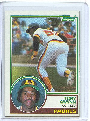 - 1983 Topps #482 Tony Gwynn Padres (RC - Rookie Card) (Baseball Cards) [Misc.]