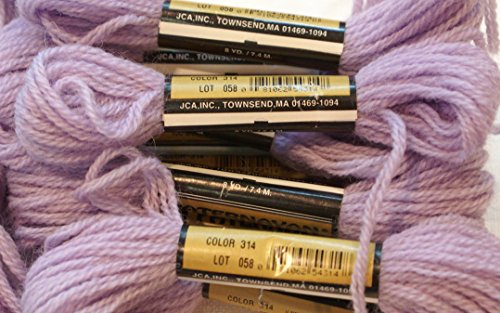 Paternayan Needlepoint 3 Ply Wool Yarn Color 314 Grape This Listing Is For 2 Mini 8 Yd Skeins