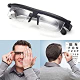 ZUZU Focus Auto-Adjusting Reading Glasses Men Women Adjustable Men Women Reading Glasses Myopia Eyeglasses -6D to +3D