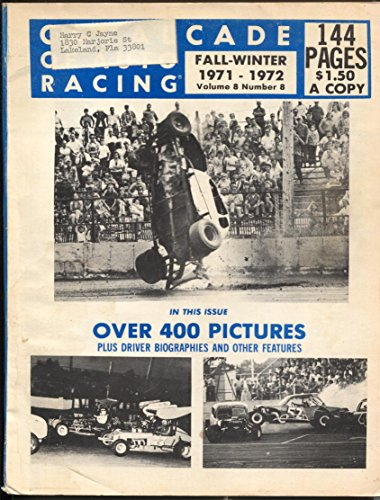 Cavalcade of Auto Racing-Fall-1971-pix section-Bob Malzahn-Unser (Bobs Section)