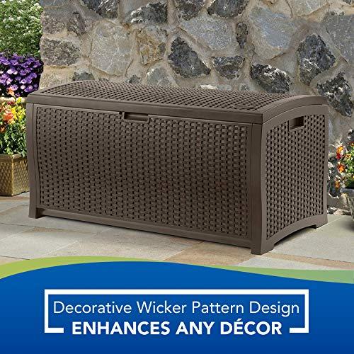 Suncast DBW7300 73 Gallon Deck Box