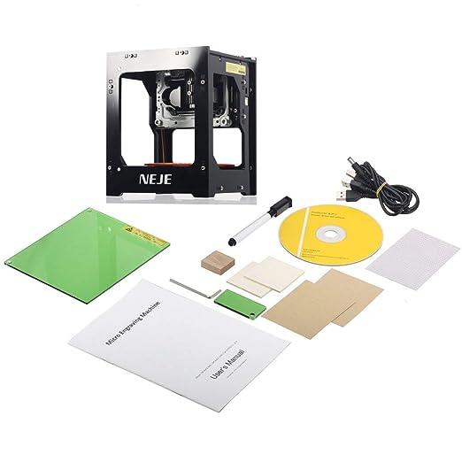 DK-8-FKZ 1500 mW bricolaje USB Impresora láser grabador de ...