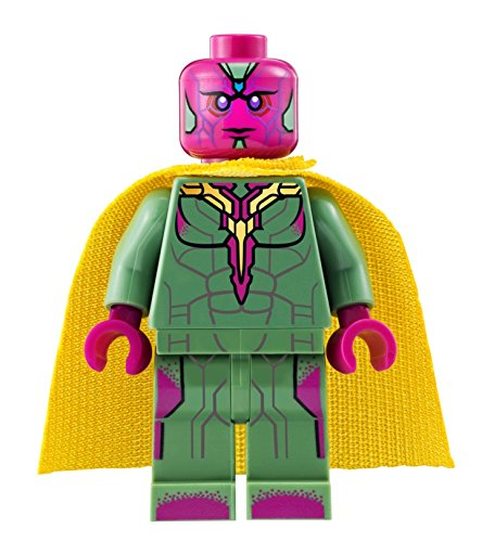 LEGO Superheroes - Vision Minifig - Age of Ultron (2015) (Superheroes 2015 Sets Lego)