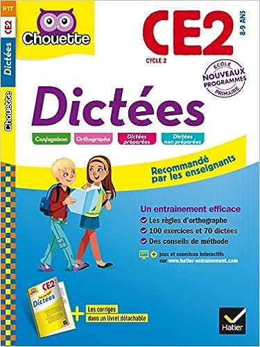 Livres Dictées CE2 - Nouveau programme 2016 pdf, epub ebook