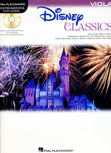 Hal Leonard Disney Classics Instrumental Play Along (Book/CD) Viola