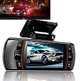 PolarLander A1 Dual Lens Car DVR Allwinner A20 Chipset Full HD 1080P Dual Camera Car Video Recorder Night Vision Dash Cam