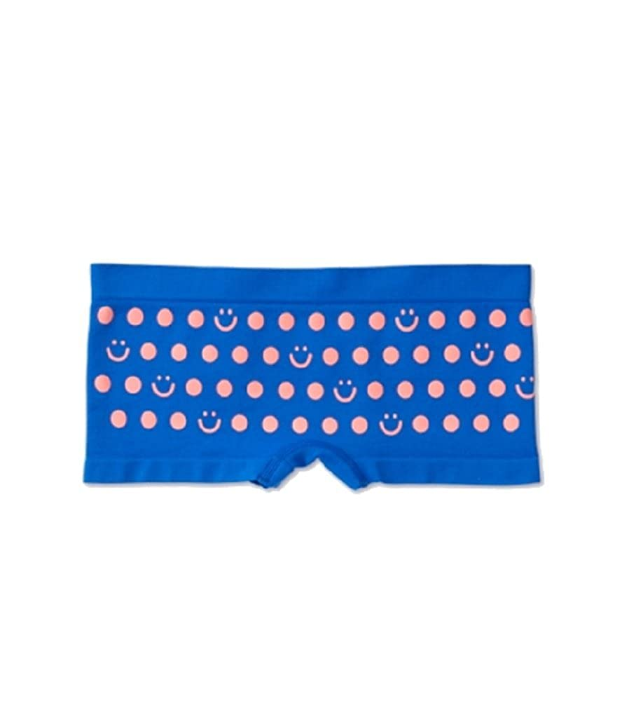 Justice for Girls Seamless Shortie Panty 12//14, Royal Blue Dots
