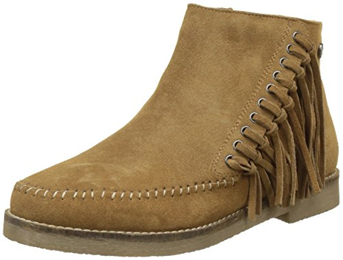 Initiale Mia, Bottines Indiennes Femme Beige (camel)