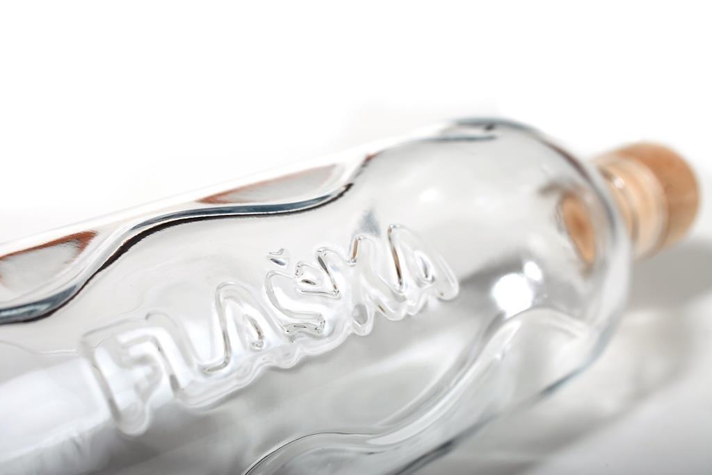 flaska Botella Botella de Agua Botella de Cristal - 0,75 litros de frecuentemente wassertrinken + 2 Corcho: Amazon.es: Deportes y aire libre