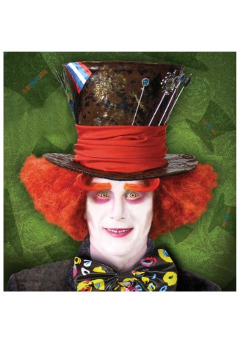 Mad Hatter Wig Adult (Mad Hatter Wig Costume Accessory)