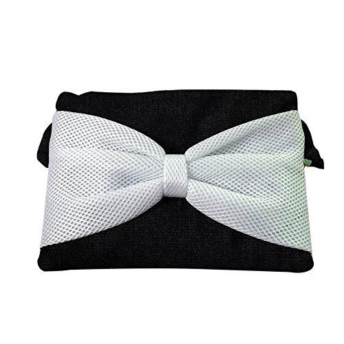 Bolso de hombro Mujer - Dxlta Mini Bolso de lona, Bolsas de mensajero, Bolsos de la bolsa de monedas del teléfono Blanco
