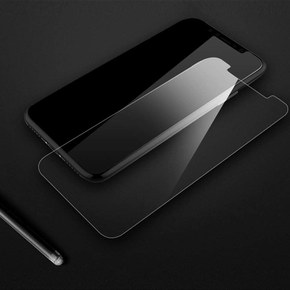 Ruimin 50pcs HD Film Tempered Glass Screen Protector 3D Touch Anti-Scratch and Bubble Free Compatible with iphoneXR