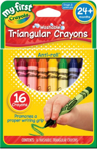 Crayola My First Triangular Crayons