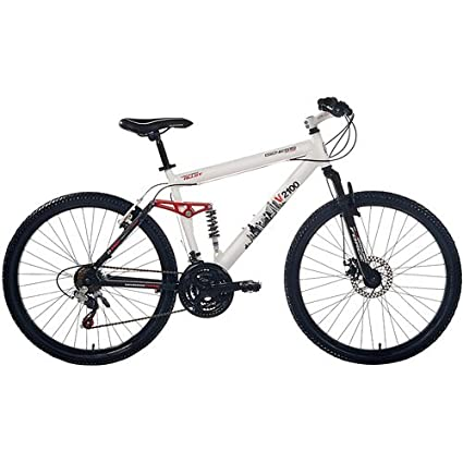 Amazoncom Genesis V2100 26 Dual Suspension Mens Mountain Bike