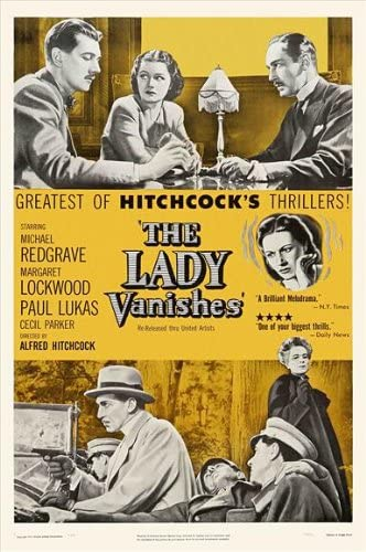 Amazon.com: The Lady Vanishes POSTER Movie (27 x 40 Inches - 69cm ...