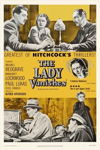 Image result for the lady vanishes poster