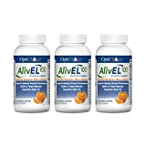 Optichoice® Alivel® 100 PMF - Patented Alivel® 100 in Combination with Citrus Pmf- Source® and Eriocitrin - Made in USA - 200mg – 60 Capsules/softgels (3 Pack)