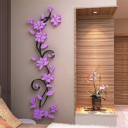 Buy Generic 3d Diy Removable Art Vinyl Wall Stickers Vase
