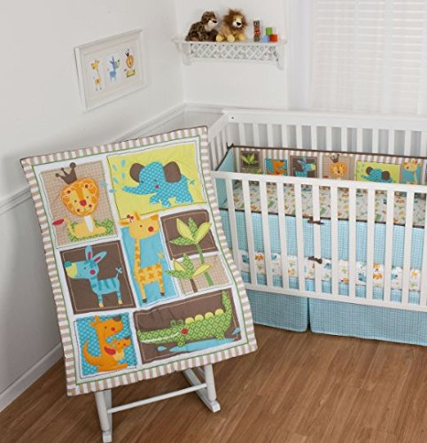 Baby Crib Bedding Set 4 Piece