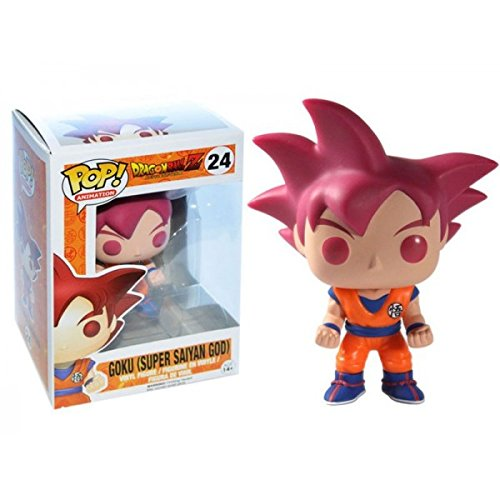 Funko POP! Anime: Dragonball Z Super Saiyan God Goku Vinyl Figure