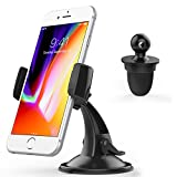 3 4 air vent - Car Holder,Cuxwill No Blocking 3 in 1 Windshield Dashboard Air Vent Mount for 3.5-6 inches Cell Phones …