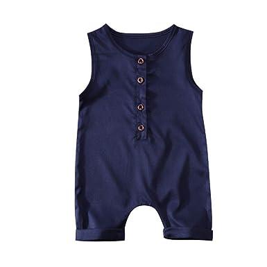 Wang-RX Niño recién Nacido bebés niños bebés niñas niños Verano ...