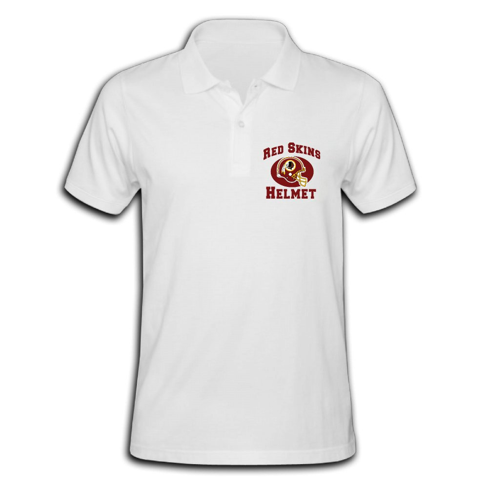 Redskins Helmet Nerdy Pique Polo T-shirt For Men