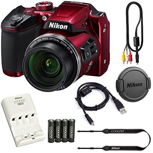 Nikon COOLPIX B500 16MP 40x Optical Zoom Digital Camera Bund