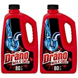 Drano Max Gel Drain Clog Remover and Cleaner for