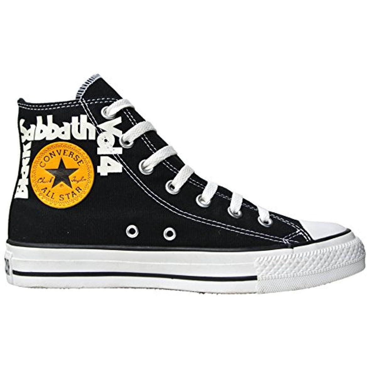 Converse All Star Chucks Eu 38 Uk 5 5 Black Sabbath Vol 4 – Ozzy Osbourne Limited Edition Numero Di Ordine 107188