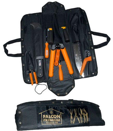 Falcon FGT-1200 12-Piece Steel Garden Tool Set (Multicolor)