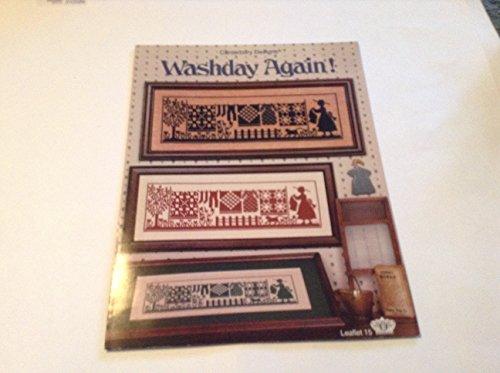 (Washday Again Cross Stitch Sampler Leaflet 1988)