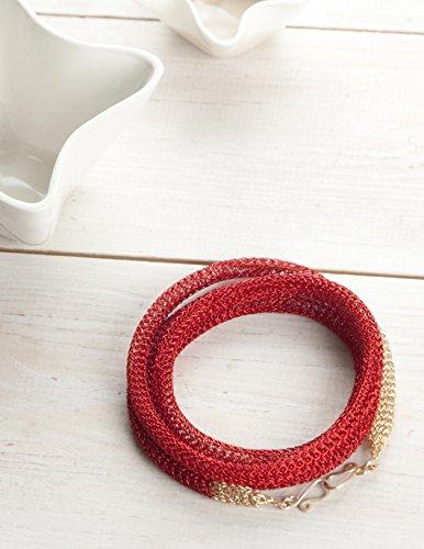Knitted Wire Mesh Jewellery Making | Premium Jewelry Making Kit 7pc Wire Mesh Jewelry Making Set