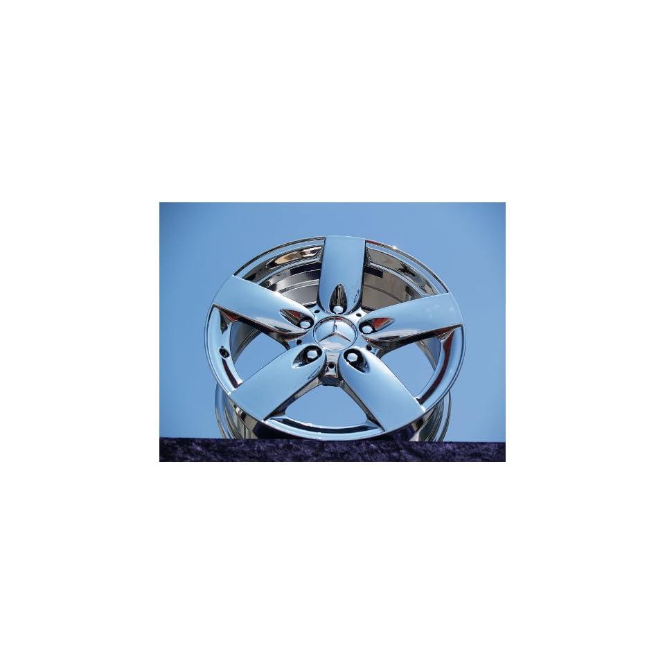 Mercedes Benz SLK280 Set of 4 genuine factory 16inch chrome wheels