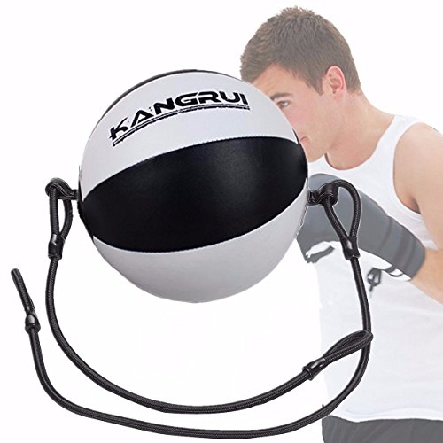 RDX Double End Ball Ropes Hook Floor Ceiling Cord Punch Bag Speed MMA Boxing CA