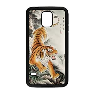 UNI-BEE PHONE CASE For Samsung Galaxy S5 -Beast Tiger-CASE-STYLE 8